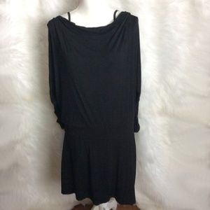 White House Black Market Black dress Size L